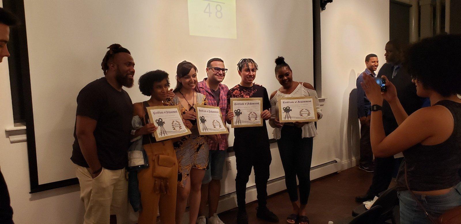 Bronx 48 Hour Film Challenge Winners