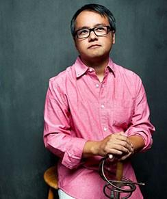 A portrait of Qui Nguyen