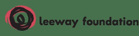 Leeway Foundation logo