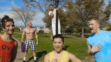 Merce (Charles Sanchez), Eye Candy Boy (Blake French) and Fairies (Alex Tomas, Alex Lawrence, and Sean Fletcher)-1