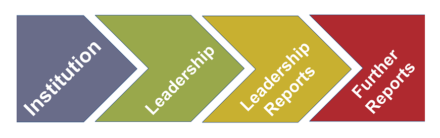 Institution + Leadership +  Leadership Reports + Further Reports