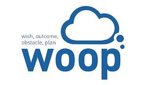 Logo for Woop: Wish, Outcome, Obstacle, Plan