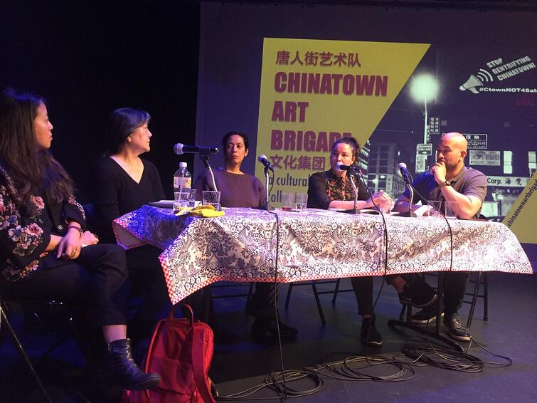 FAB NYC member Chinatown ArtBrigade hosts a panel