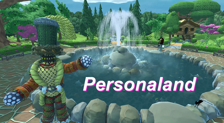A computer-generated image from Personaland