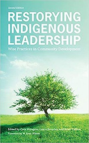 Book cover for Restorying Indigenous Leadership