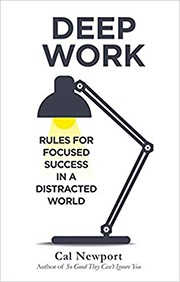 Book cover for Deep Work
