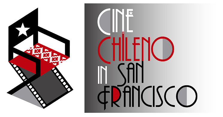 Chile Cine in San Francisco logo with directors chair