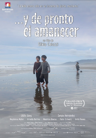 "Movie poster for ""...y de pronto el amanecer"""