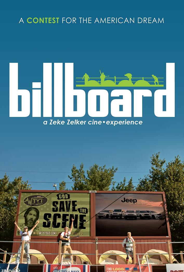 "The official poster for ""Billboard: The Movie"""