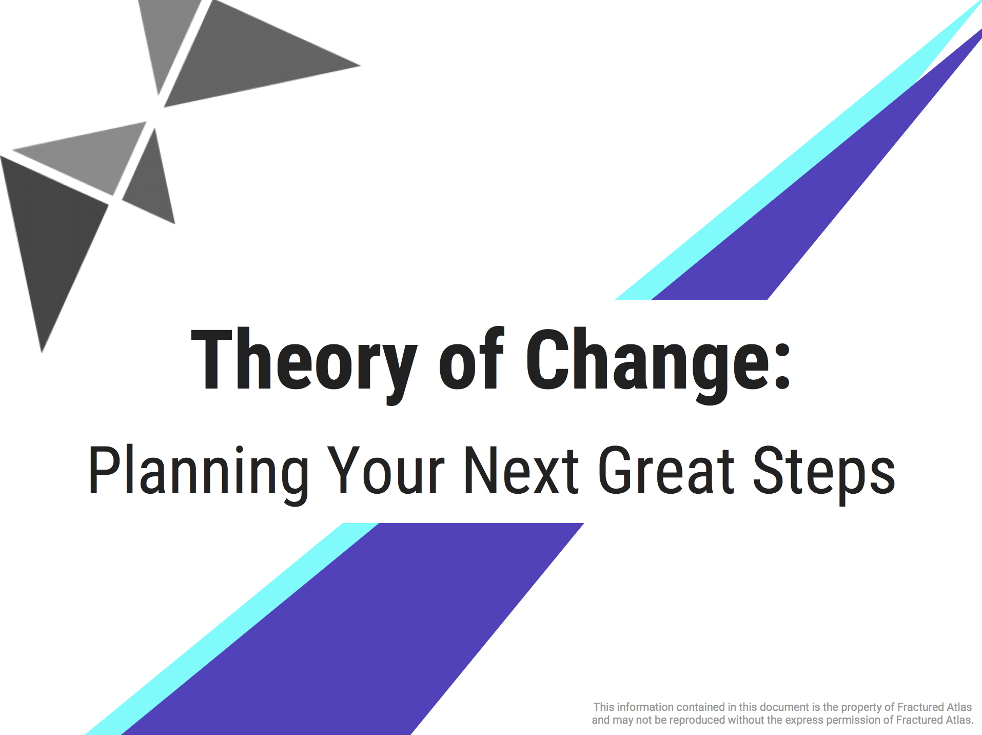 Theory of Change Workbook